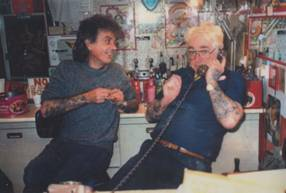 Terry and Jimmy - Glasgow, circa 1990